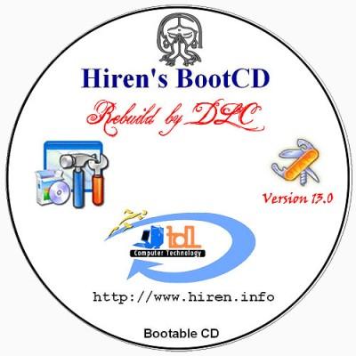 Hiren's BootCD 13.0 Rebuild by DLC v4.0
