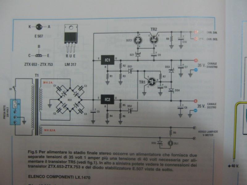 Schemi Elettrici Kit Nuova Elettronica : Amplificatore in classe quot a con mosfet di nuova elettronica