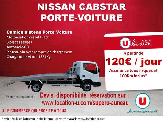 super u location voiture super u location voiture camion utilitaire u express super u. Black Bedroom Furniture Sets. Home Design Ideas