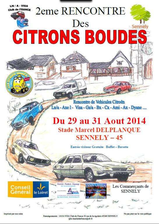 Affiche Citron Boudé