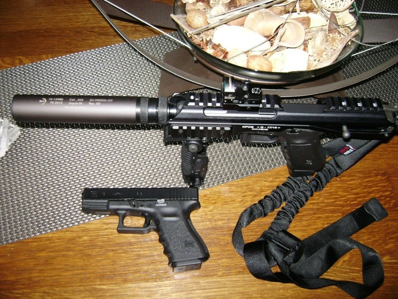 Re  Crosse Roni pour Glock 17 et autres