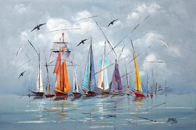 Extraordinaire Peintres Polonais Contemporains HW19   Montrealeast WY79