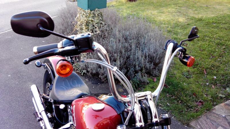 Vue Complete De La Harley Davidson Road King