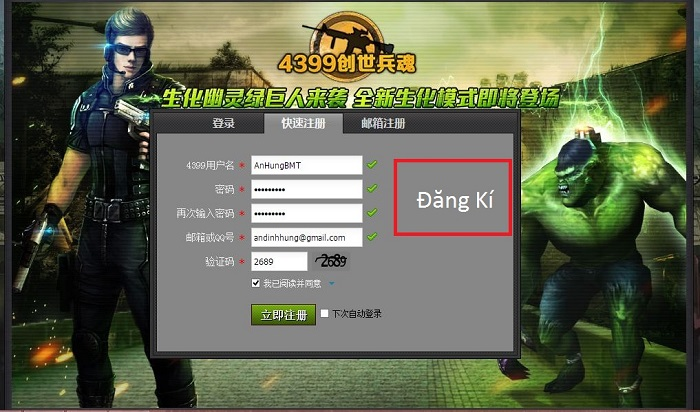Web game đột kích