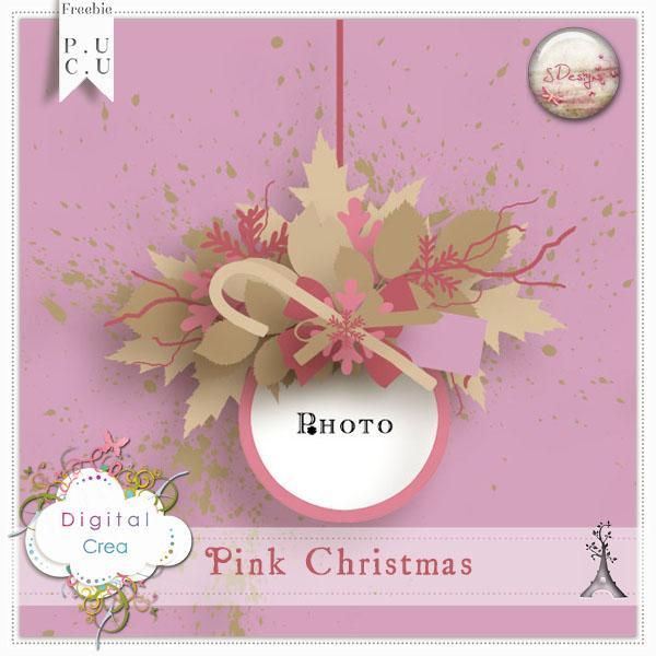Template Pink Christmas de SDesigns dans Janvier s_desi90