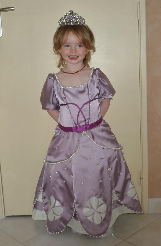 Ma petite robe de princesse