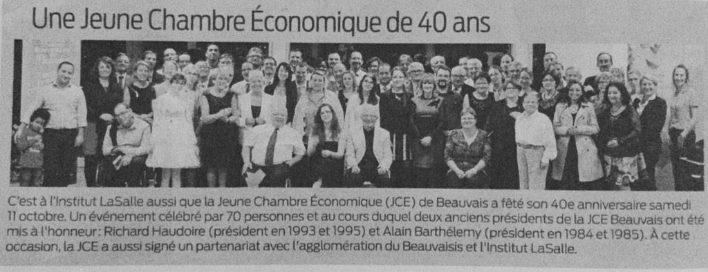 La JCE-Beauvais fête ses 40 ans