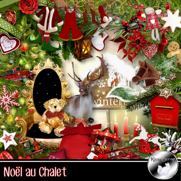 Noel au chalet de Kittyscrap dans Decembre kitty111