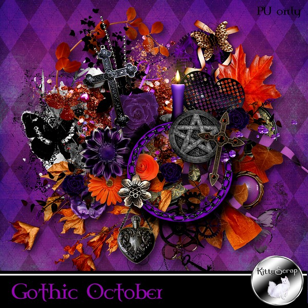 Gothic october de Kittyscrap kittys76