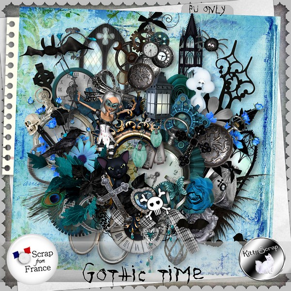 Gothic time de Kittyscrap kittys83