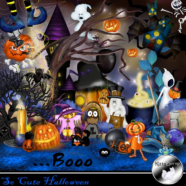 So cute Halloween de Kittyscrap kittys92