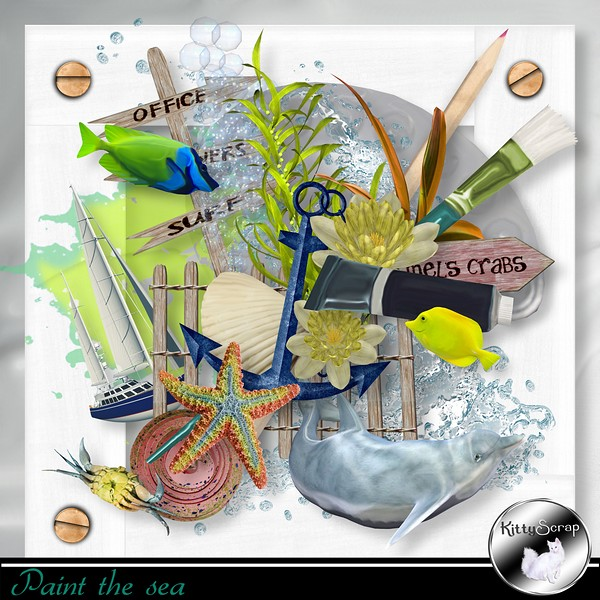 Paint the sea  de Kittyscrap dans Juillet ks_pai10