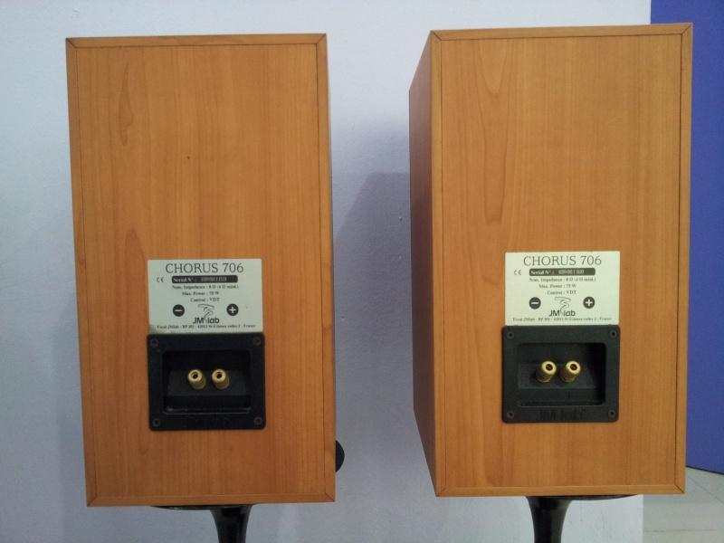 focal jmlab chorus 706 bookshelf speaker sold. Black Bedroom Furniture Sets. Home Design Ideas