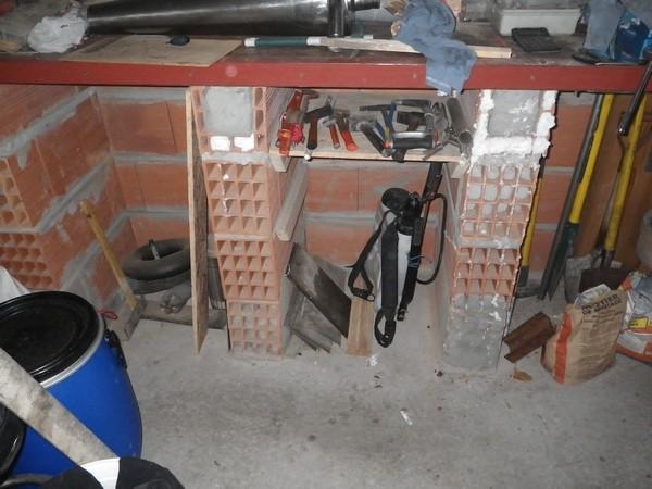 marche cuisine garage et remplacement du montent de mon tabli. Black Bedroom Furniture Sets. Home Design Ideas