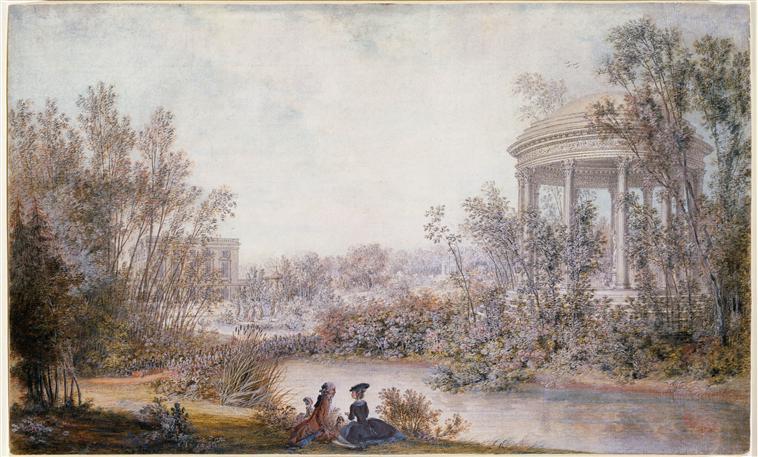 """Résultat de recherche d'images pour """"jardin anglais de Trianon."""""""