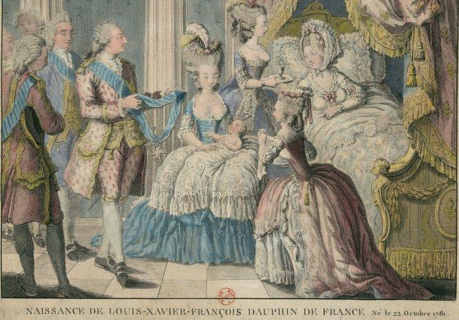 22 octobre 1781: Couches de la Reine - Le blog de Louis XVI