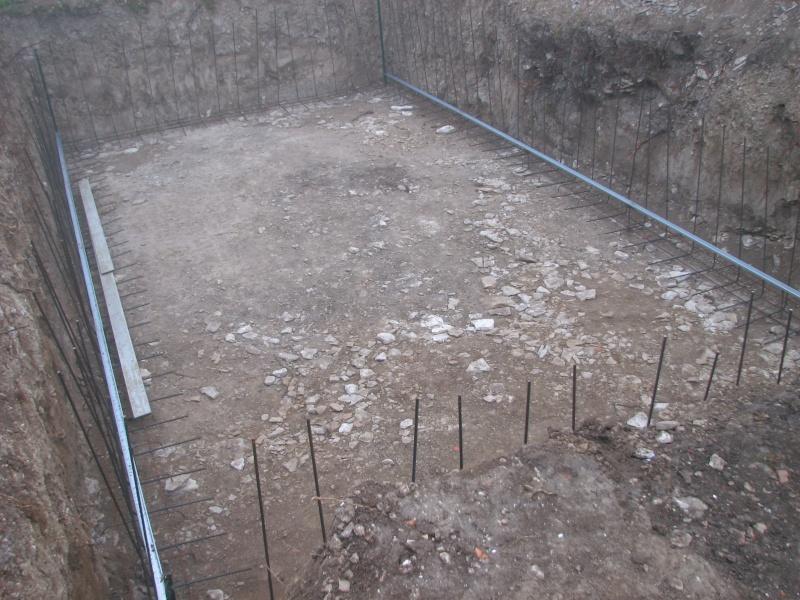 Autoconstruction d 39 une piscine for Radier piscine beton