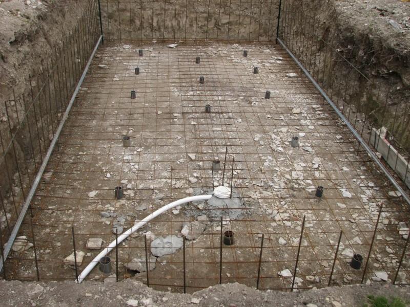 Autoconstruction d 39 une piscine - Dalle beton pour piscine ...