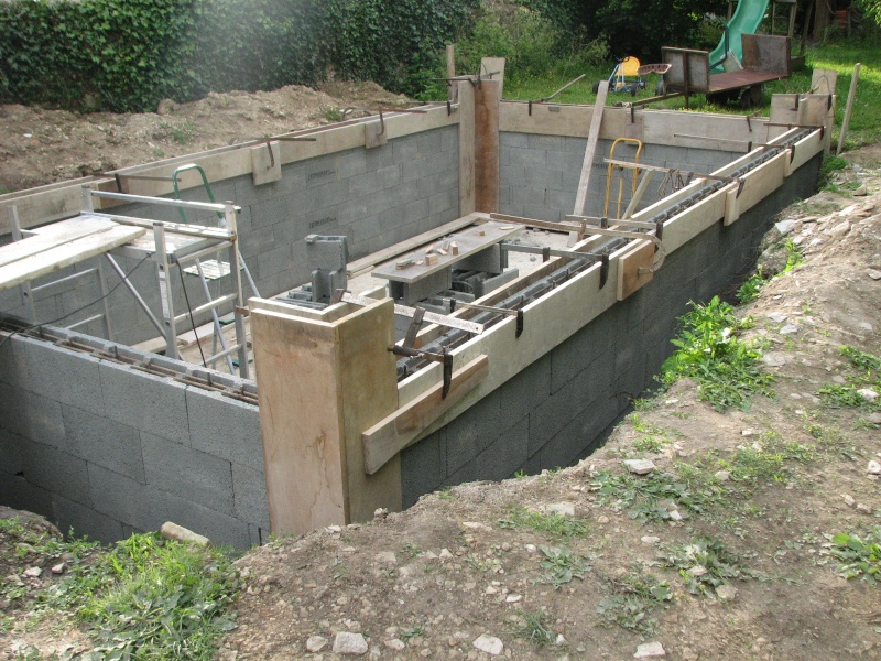 Autoconstruction d 39 une piscine - Autoconstruction piscine ...