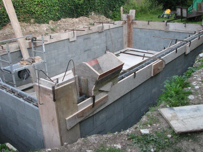 Autoconstruction d 39 une piscine - Construire un jacuzzi en beton ...