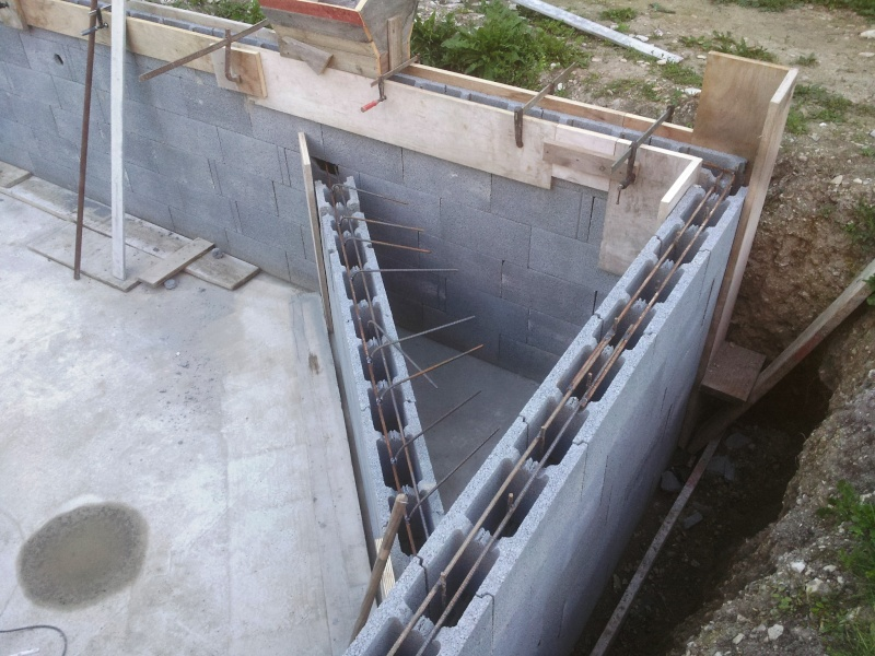 Autoconstruction d 39 une piscine for Construire un local technique pour piscine en parpaing