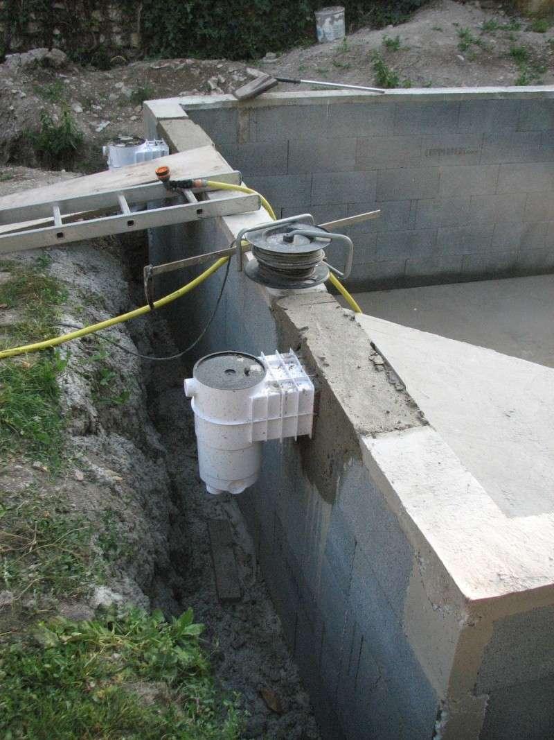 Autoconstruction d 39 une piscine for Skimmer piscine