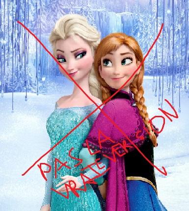 Accros des jeux view topic la reine des neiges et - Reine des neiges en anglais ...