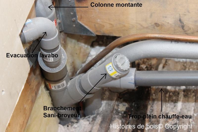 Recherche installation d 39 un sani broyeur ou d 39 une douche - Brancher lave vaisselle et lave linge sur meme evacuation ...