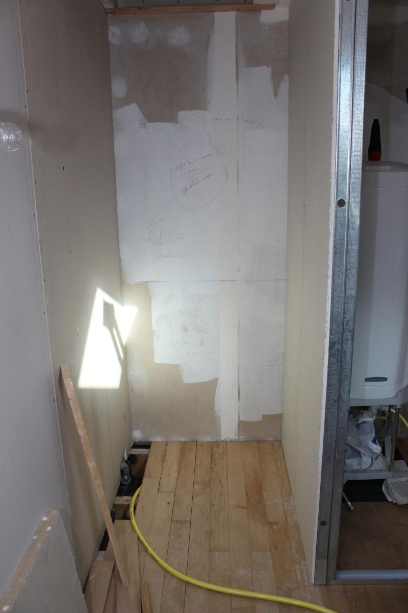 recherches installation d 39 une douche avec receveur sur plancher bois. Black Bedroom Furniture Sets. Home Design Ideas