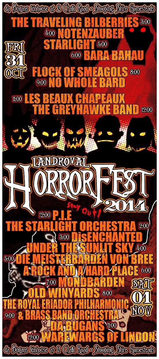 Plagát HorrorFestu 2014