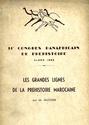 Les Grandes Lignes de la Préhistoire Marocaine