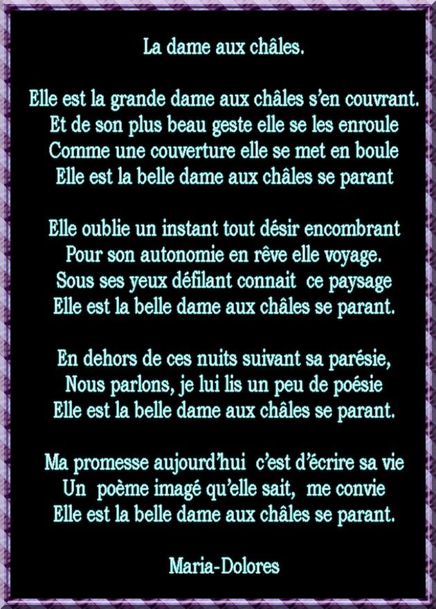 La Passion Des Poèmes Poèmes Damitié La Dame Aux