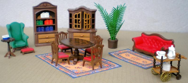 M bel geschirr und hnliche kleinteile zur figurengr e 7 cm for Wohnzimmer playmobil