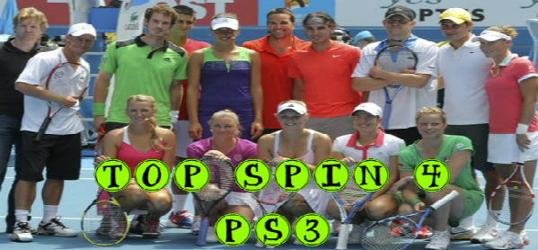 TOP SPIN 4 (PS3) ATP SERIES