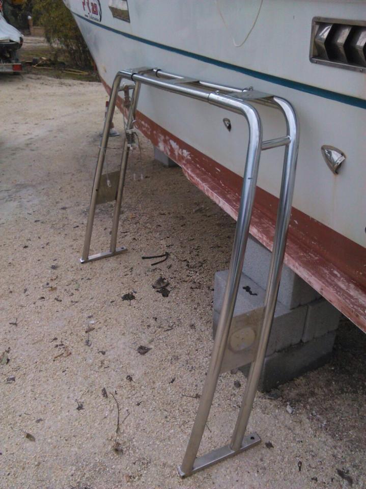 Vendo usato come nuovo rollbar nautinox tendalino for Vendo arredo bar usato