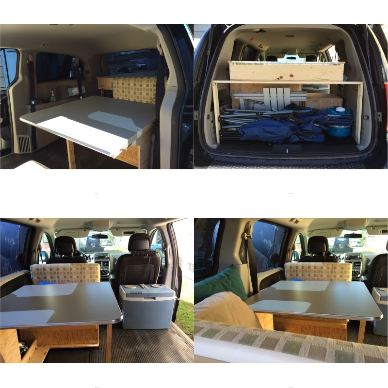Camper Shell Camping >> Transformer ma minivan en mini camper