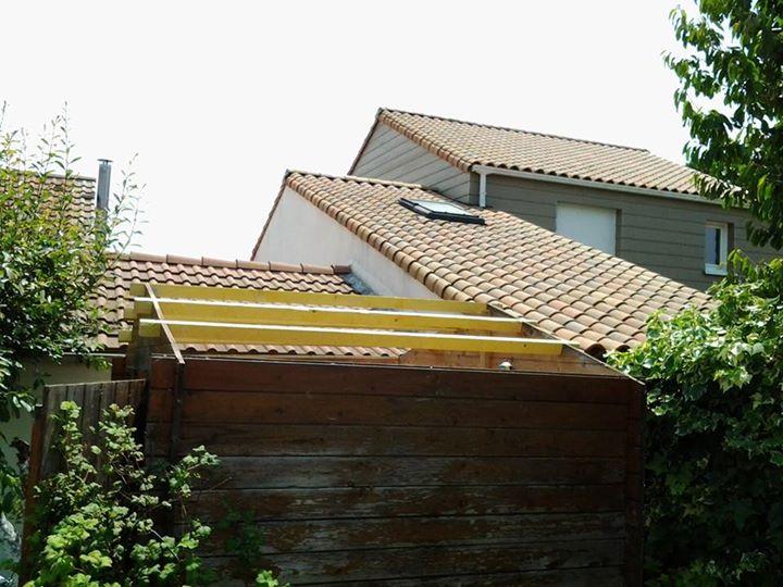 R novation du toit de cabonon de jardin - Toit amiante obligation de le changer ...