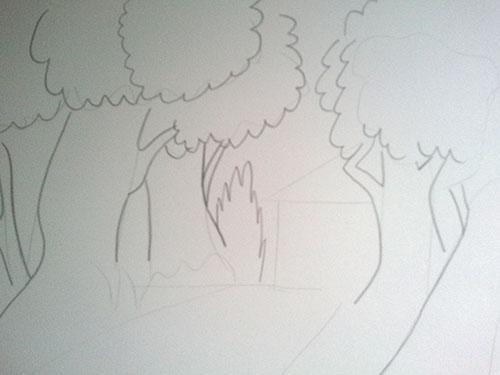 tutoriel dessiner les for ts v g tation. Black Bedroom Furniture Sets. Home Design Ideas