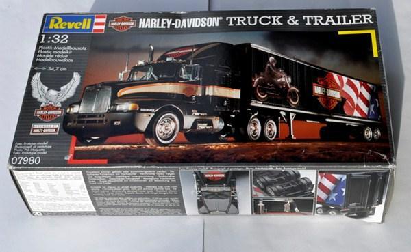 kenworth t600 truck trailer harley davidson. Black Bedroom Furniture Sets. Home Design Ideas