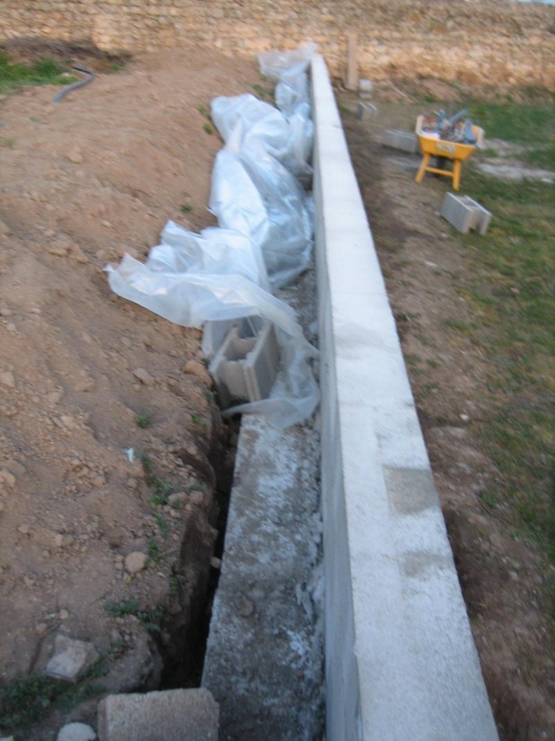 Mur de sout nement - Faire un muret en beton ...