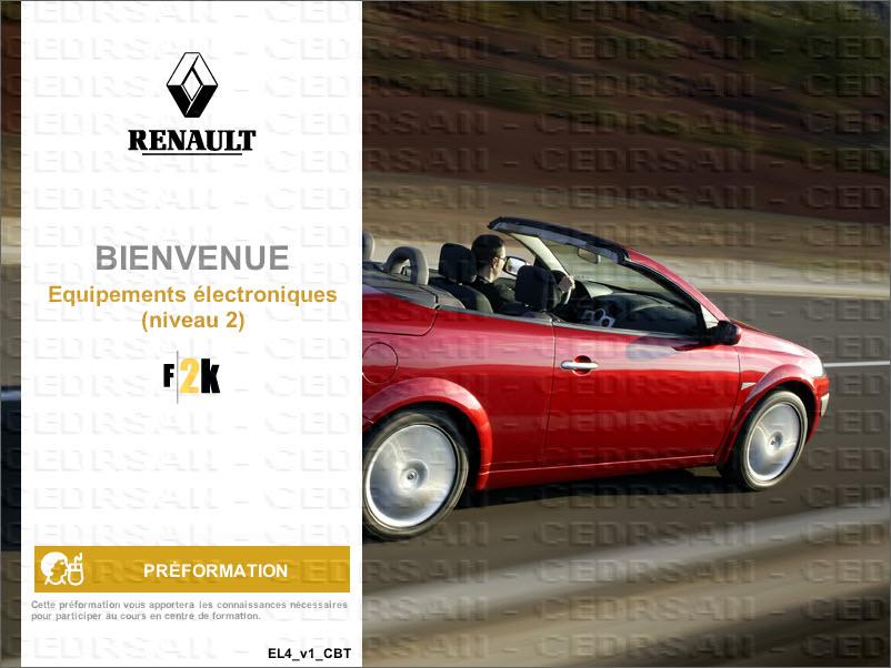 renault f2k formation 2000