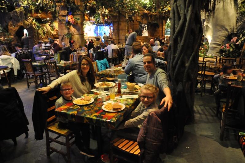 Restaurant Rainforest Cafe Disney Village Prix Repas