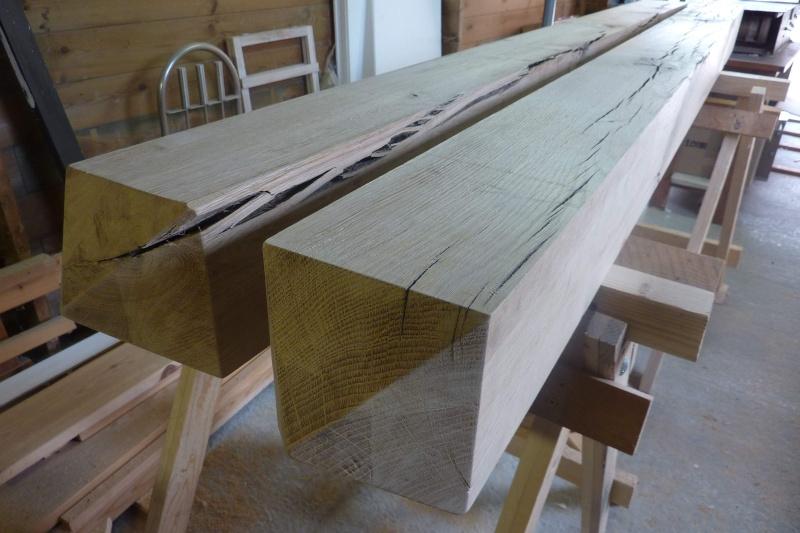projet pose et traitement de poteaux en bois pour. Black Bedroom Furniture Sets. Home Design Ideas
