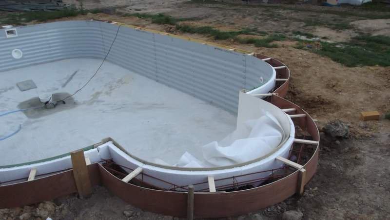 Ceinture haute - Montage d une piscine waterair ...