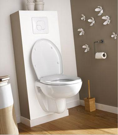 Peinture des toilettes for Peinture toilettes blanc