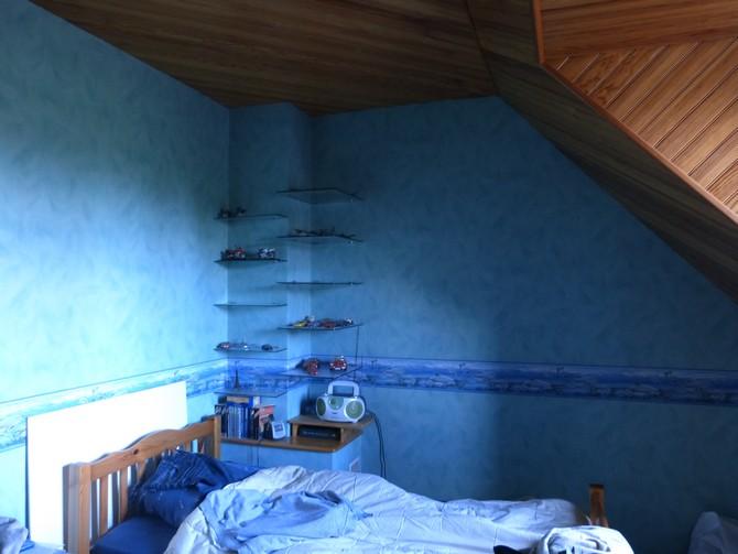 D coration travaux chambre coucher - Enlever de la tapisserie facilement ...
