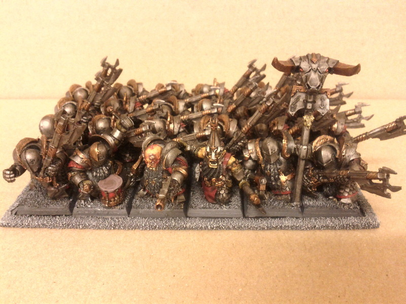 Tactica anti tactica nains du chaos for Portent warhammer