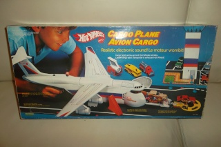 Hot wheels cargo plane avion cargo made in france mattel - Avion hot wheels ...