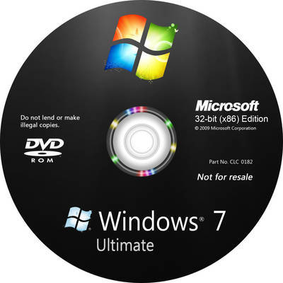 نسخة ويندوز سفن Windows 7 ultimate SP1 x32 بحجم 600 ميجا فقط