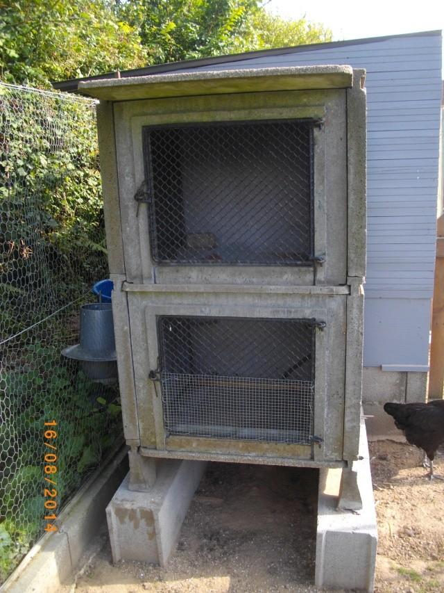 Du nouveaux dans mes parcs photos - Clapier lapin beton ...